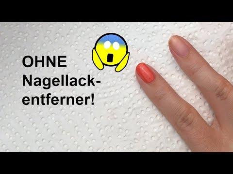 Live-Test Nagellack OHNE Nagellackentferner entfernen | 'seni Nageldesign