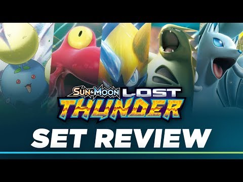 Lost Thunder Set Review Pokemon TCG