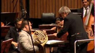 Final Don Juan - Concierto para Corno en Mi Bemol Op, 11 R. Strauss. Solista: Gabriel Betancur