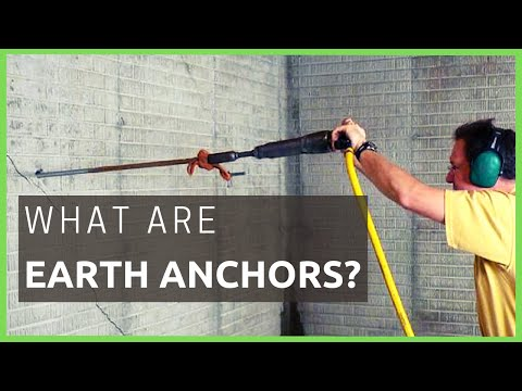 🐊 Earth Anchor Systems- What Are They? | Foundation Repair