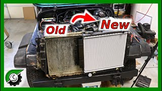Jeep Wrangler YJ Radiator Replacement