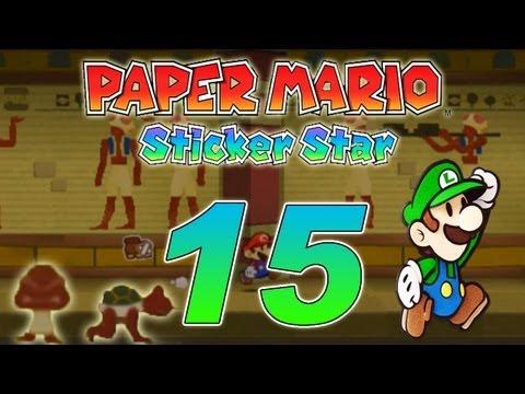 paper mario sticker star walkthrough part 14 world 2 4