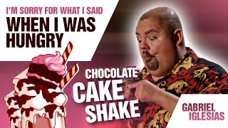 'Chocolate Cake Shake' | Gabriel Iglesias - I'm Sorry For What I Said When I Was Hungry