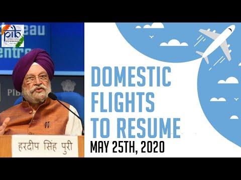 Union Minister Hardeep Singh Puri address a press conference