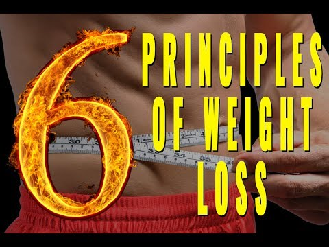6 Basic Principles of Weight Loss – Full Guide For Men Over 40