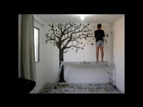 Árvore na parede