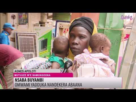 NSABA BUYAMBI: Omwami yadduka nadekera abaana