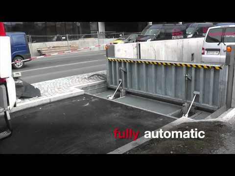 The BL/HWS-K Flood Barriers are part of BLOBEL Environmental