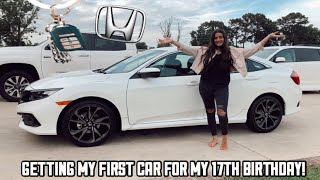 MY FIRST CAR SURPRISE For My 17th BIRTHDAY!!