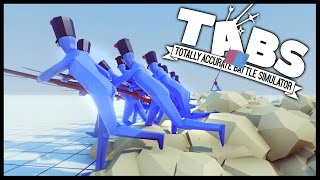 SUPER FAST UNITS & Giant Swordsman! - Totally Accurate Battle Simulator [TABS Gameplay]