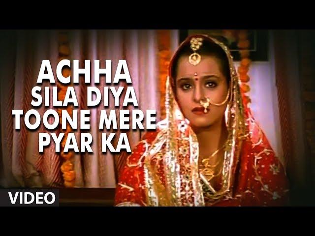 Achha Sila Diya Toone Mere Pyar Ka Full Song Bewafa Sanam