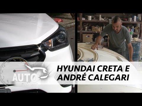Auto Diário traz Hyundai Creta e André Calegari