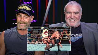 Shawn Michaels and Razor Ramon watch their historic WrestleMania X Ladder Match: WWE Playback