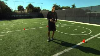 Lateral Direction Change -Footwork, Agility & Acceleration Series - IMG Academy (5 of 6)