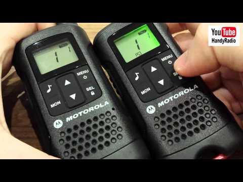 Crying Babies & Motorola TLKR T60 Walkie Talkies