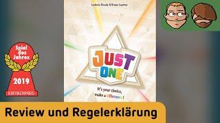 Just One (Spiel des Jahres 2019)- Brettspiel - Review