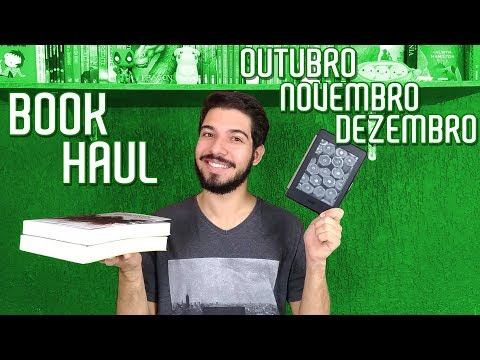 NOVOS NA ESTANTE (4º Trimestre 2018) | Book Haul e Bookshelf Tour Kindle | O Refúgio
