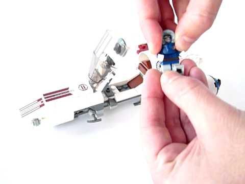 Vidéo LEGO Star Wars 8085 : Freeco Speeder