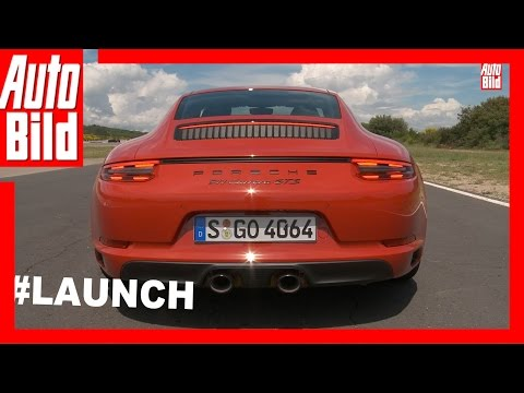 Porsche 911 GTS Sound (2017) - So klingt der Turbo im GTS