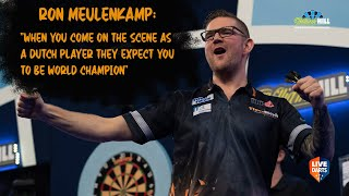 "Ron Meulenkamp: ""When you come on the scene as a Dutch player they expect you to be World Champion"""