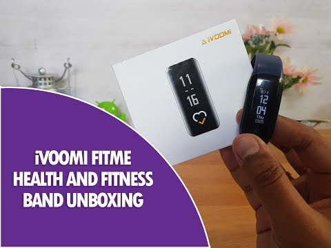 iVoomi Fitme Health Band with Air Quality Index (AQI) Unboxing and Hands on