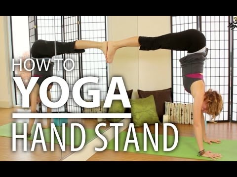 Yoga for Beginners – How To Do A Yoga Handstand Safely. Advanced & Complete Beginners Yoga