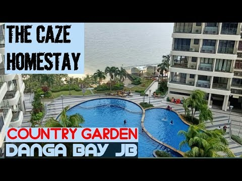 THE CAZE HOMESTAY | COUNTRY GARDEN DANGA BAY JB