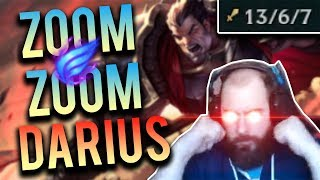SoloRenektonOnly - HOW FAST CAN DARIUS RUN FACE FIRST INTO THE ENEMY TEAM!?!? [EXTREMELY EMOTIONAL]