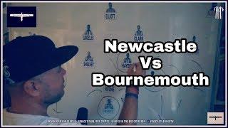Tactics board | Newcastle United v Bournemouth | Preview