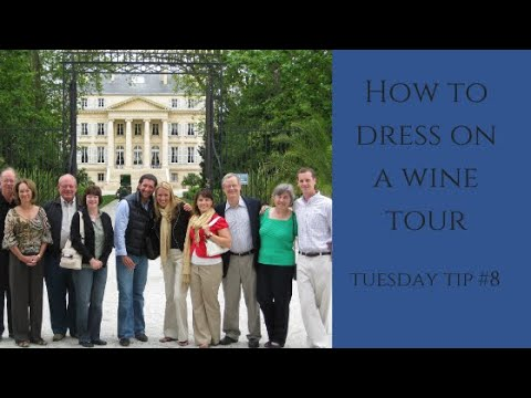 What to wear wine tour