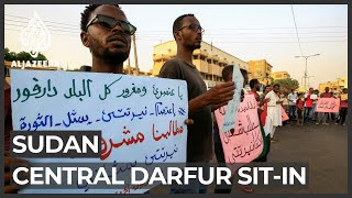 Sudan: Growing protests against insecurity in central Darfur