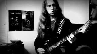 Bathory - Flash of the Silverhammer (guitar cover)