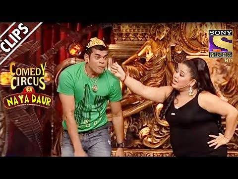 Bharti Teaches Siddharth The Art Of Hand-Stand | Comedy Circus Ka Naya Daur