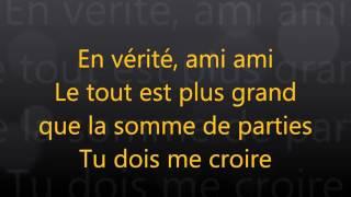 Ariane moffatt - Miami (paroles - lyrics)