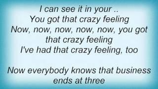 Lou Reed - Crazy Feeling Lyrics