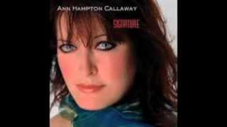 """Ann Hampton Callaway - """"You Turned the Tables On Me"""""""