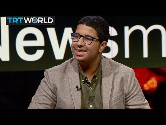 Tunisian teen author Amir Fehri speaks to The Newsmakers
