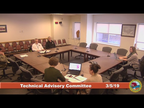 Technical Advisory Committee 3.5.2019