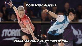 2017 USBC Queens Semi-Final Match - Diana Zavjalova V.S. Cherie Tan