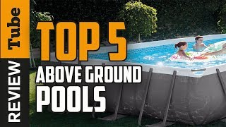 ✅Swimming Pool: Best Above Ground Pool (Buying Guide)