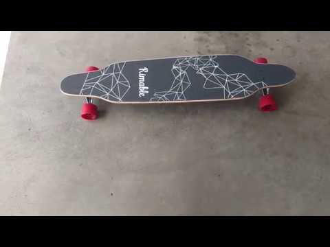 Rimable 42 Inch Freestyle Topmount Longboard Unboxing and Review!