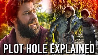 A Quiet Place: Waterfall Plot Hole Explained | A Quiet Place Explained - Video Youtube