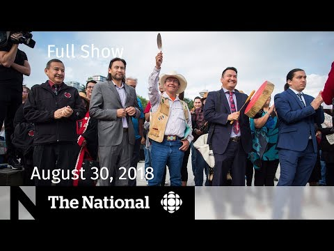 The National for Thursday August 30, 2018 — Pipeline Rejection, NAFTA, EpiPen Shortage