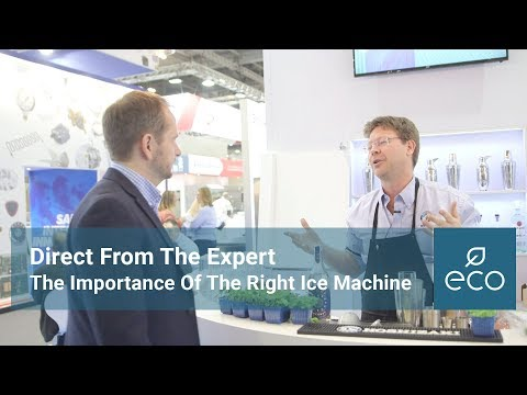 Direct From The Expert: The Importance of the Right Ice Machine