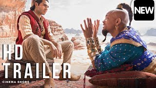 ALADDIN Official Movie Trailer #2 (HD) Will Smith, Billy Magnus, Naomi Scott