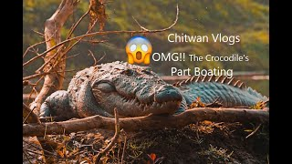 preview picture of video 'OMG!! The Crocodile's ||Chitwan Vlog||Part Boating'