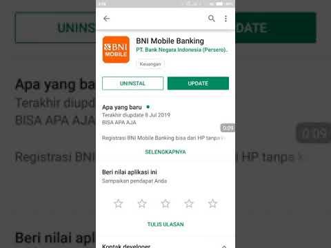 BISA GAK YA..!? UPDATE APLIKASI BNI MOBILE BANKING VERSI TERBARU 3.0.1