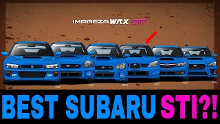 What is the BEST Subaru Impreza STI Generation?