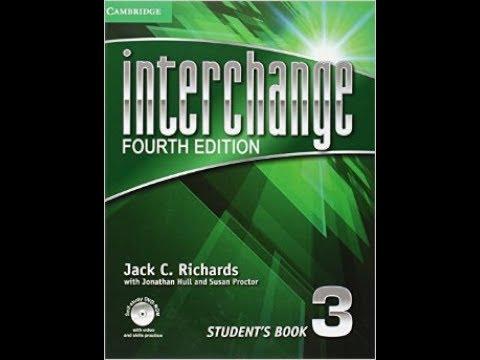interchange 3 unit 1  part 1  كورس انجليزي  - الجامعة الامريكية مجانا انترتشينج شرح