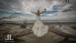 Bridals On Driftwood Beach In Jekyll Island Georgia- Photography Consulting Services By Jason Lanier